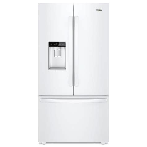 whirlpool 36 in w 24 cu ft door refrigerator in