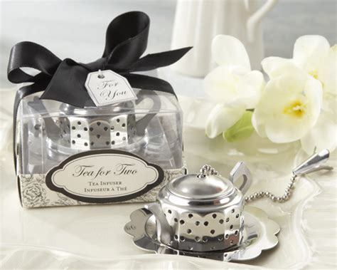 teapot tea infuser bridal shower favor my wedding favors