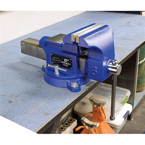 8 inch bench vice quick change vise jaws system bench vise