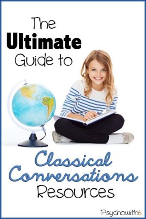 The Ultimate Guide To Resources by The Ultimate Guide To Classical Conversations Resources