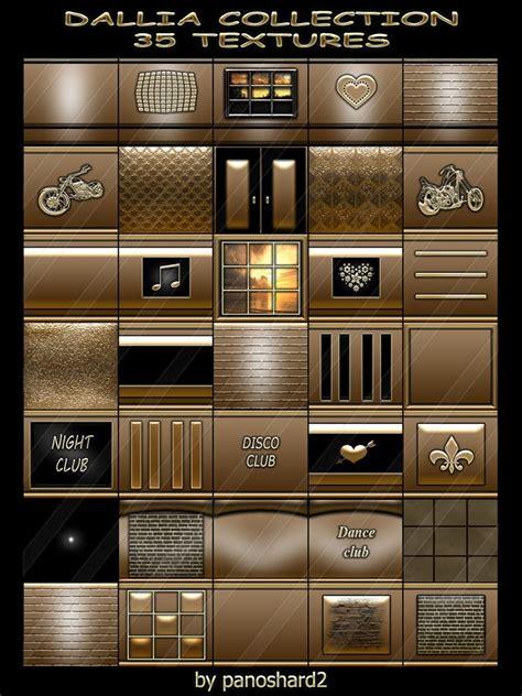 dallia collection  textures  imvu creator rooms