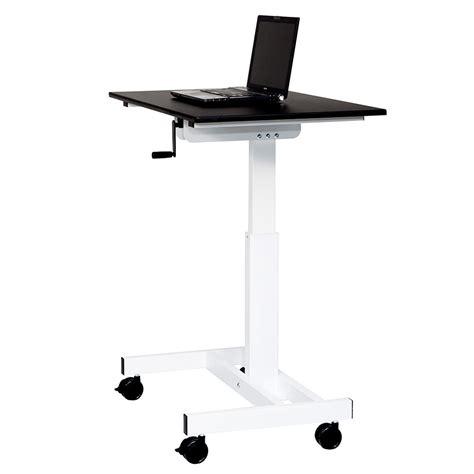 Modern Stand Up Desk Carlsbad 40 In Modern Stand Up Desk Eurway Furniture