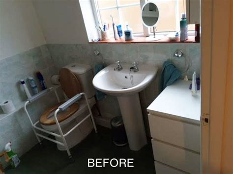 convert bathroom into wet room easy access wet room conversion in prestwood evolution