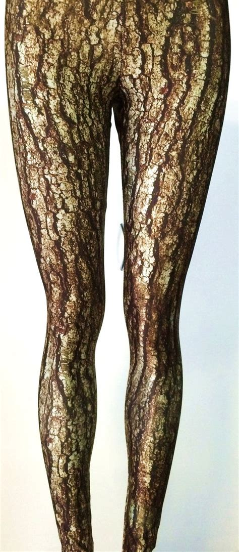 roots pattern leggings soul trend womens leggings tree bark print would be