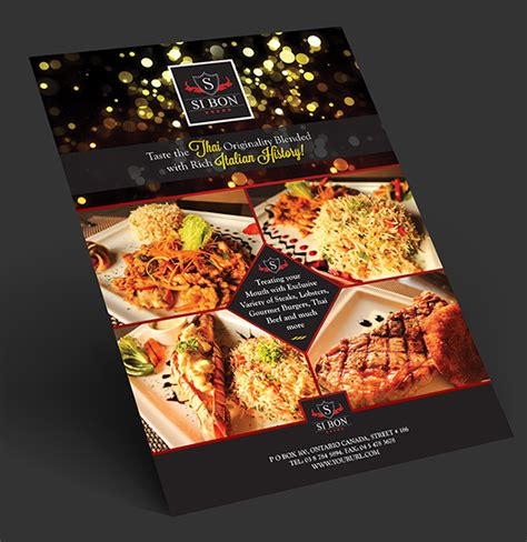 flyers design templates for restaurant 10 must have premium graphics for 1 00 file