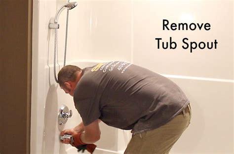 hometalk   remove  fiberglass bathtub  surround   minutes