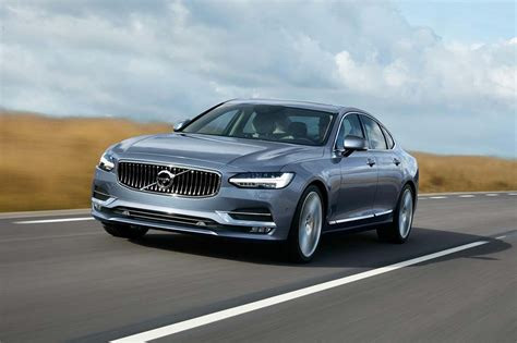 volvo lifts the covers new flagship s90