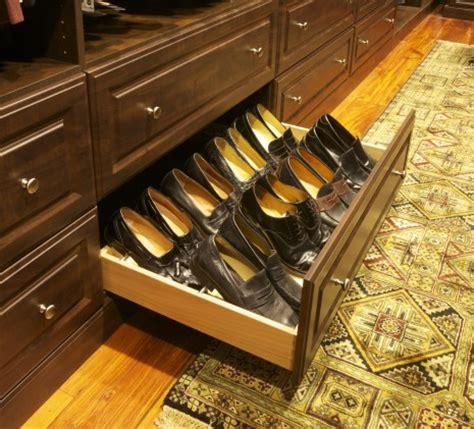 shoe storage drawers malka in the closet custom shoe closet