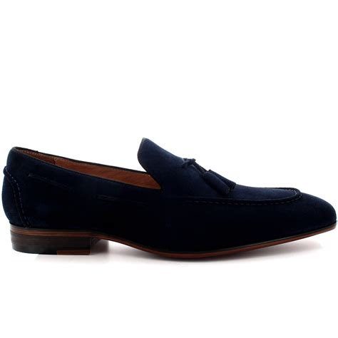 mens queensbury loafer moccasin real leather tassel