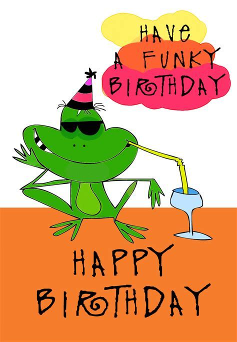Party Frog Birthday Card   Greetings Island