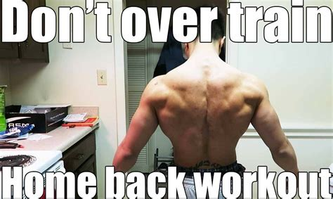 home pull up bar workouts how to get a ripped back at