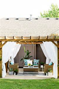 Outdoor Curtains For Pergola » Home Design