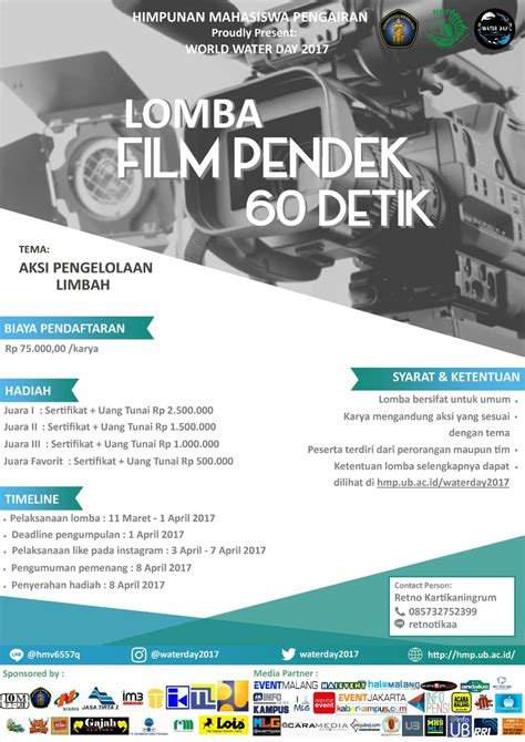 detik event lomba film pendek 60 detik periode 11 maret 01 april
