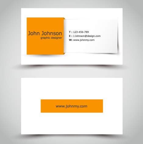 yellow business cards templates yellow style business cards anyway surface template vector