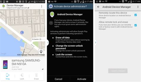 android device manager login 13 things every samsung galaxy note 4 owner should do