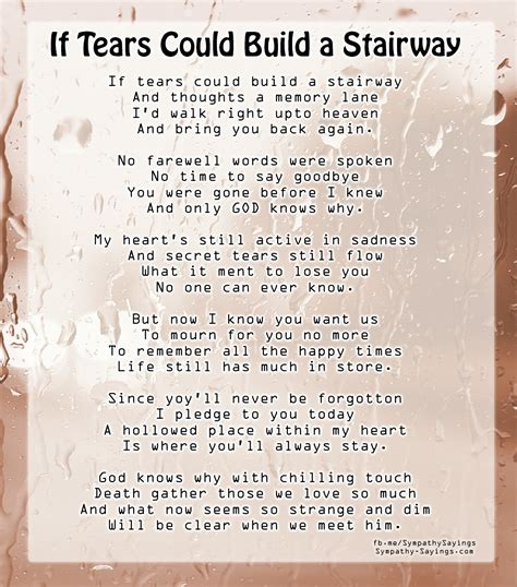 if tears could build a stairway bench if tears could build a stairway poem that soothe our if stairs could build a stairway noir