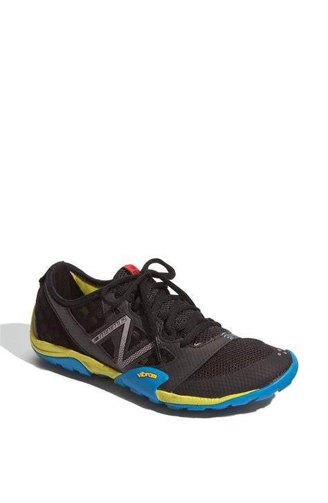 black new balance running shoes new balance minimus 20 running shoe in black lyst
