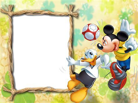 imagenes en png descargar marcos png de mickey mouse para ni 241 os marcos gratis