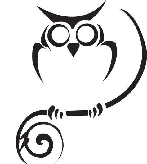 tribal owl tattoo designs image gallery tribal owl