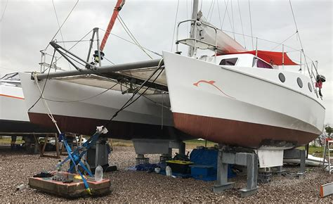 boat parts newcastle catamaran keel replacement boat repairs newcastle nsw