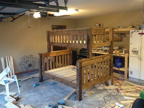 classes   build  twin  full bunk bed cabin