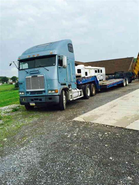 Sleepers Trailer 1996 Freightliner Cabover 1996 Sleeper Semi Trucks