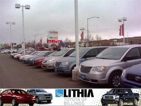 toyota dealers inventory lithia toyota scion of billings car dealership in billings