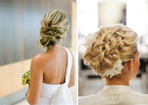 17 best images about style on pinterest updo on the 17 beauty fabric flower bridal updo hairstyles top