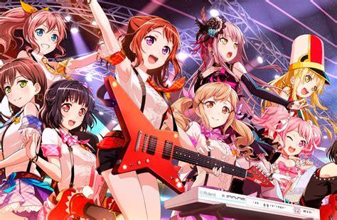 bang dream girls band party      rhythm
