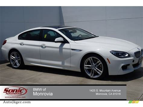 Bmw 650i 2015 by 2015 Bmw 6 Series 650i Gran Coupe In Alpine White 799032