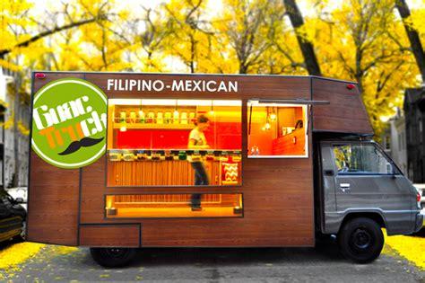 modern food truck design まるで移動するカフェ おしゃれなデザイナーズ フードトラック guactruck がフィリピンに誕生