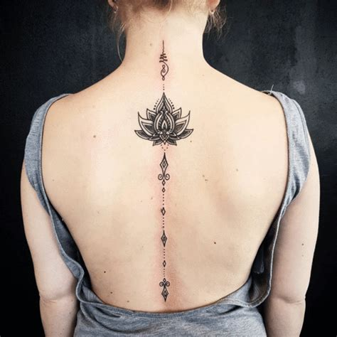 20 spine tattoos that have us doing backflips more com