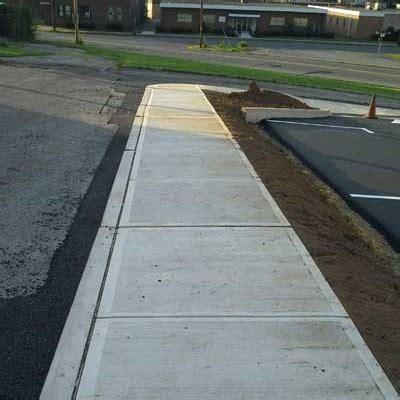 Concrete Sidewalks, Curbing, Foundations, Poconos