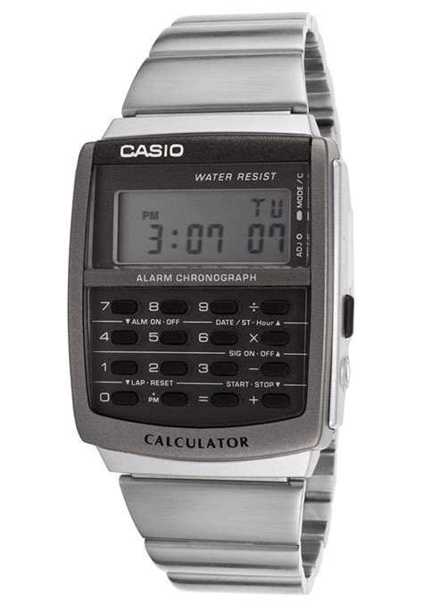 Casio Calculator Ca506 Original casio vintage retro style digital alarm stopwatch