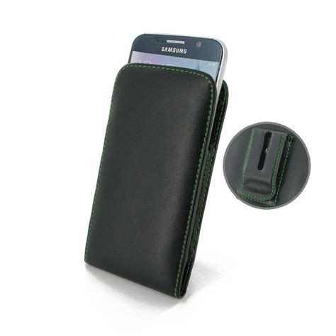 samsung galaxy pouch samsung galaxy s6 pouch with belt clip green stitch