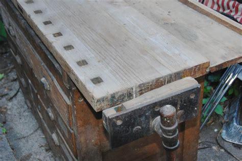 used bench vise craigslist c christiansen work bench restoration