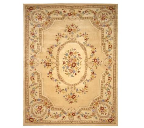 Royal Palace Rugs Qvc by Royal Palace Floral Savonnerie 9 X 12 Handmadewoolrug