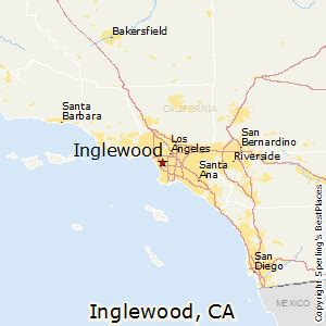 inglewood california map best places to live in inglewood california