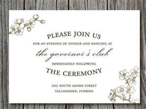 posh invitation template wedding invitation reception card wording vertabox