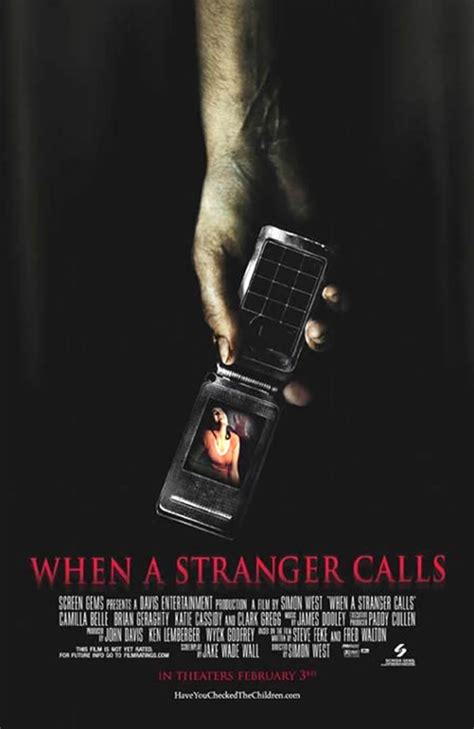 when a stranger calls when a stranger calls remake movie posters
