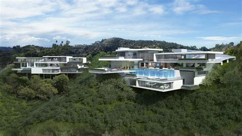 two modern mansions on sunset plaza drive in l a priv 233