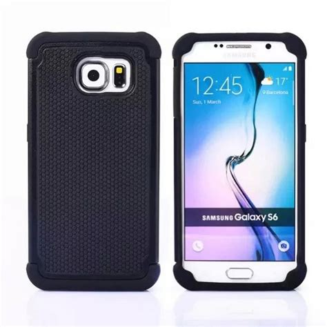 Armor Samsung Galaxy S6 Hybrid 3 In 1 Wit Murah for samsung s6 armor 3d hybrid shockproof tpu pc protection phone for samsung galaxy