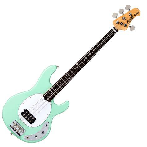 guitare bass sterling by musicman ray34ca bass guitar mint green dv247