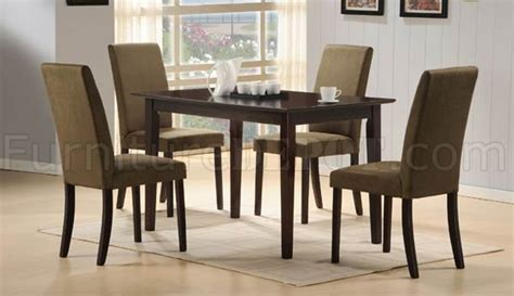 distressed cherry formal dining room set w microfiber seats cherry finish modern dining table w optional microfiber chairs