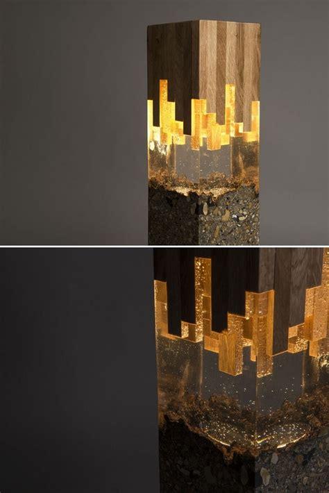 wood resin lamp id lights resin lamp wood resin