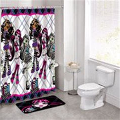 Com Monster High Shower Curtain Shower Curtain
