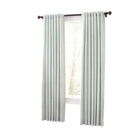 home depot drapes martha stewart living river mist moroccan geo back tab