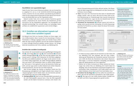 Indesign Layout Vorlage Adobe Indesign Cs6 Das Umfassende Handbuch Hans