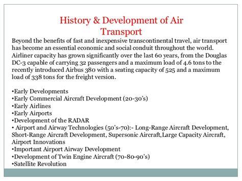 air transport details