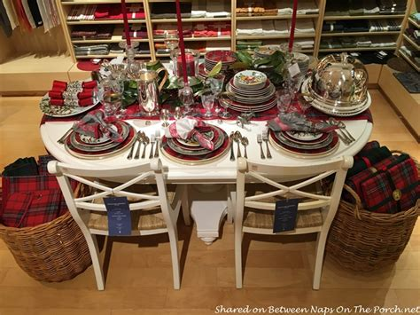 how to set a christmas table tartan christmas table setting vintage style